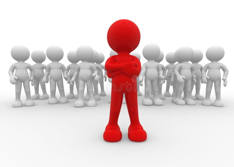 ηγεσία απεικόνιση αποθεμάτων