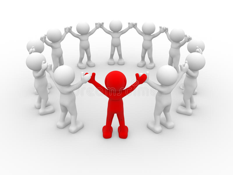 ηγεσία διανυσματική απεικόνιση