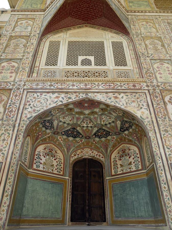ηλέκτρινο οχυρό Ινδία Jaipur στοκ εικόνα