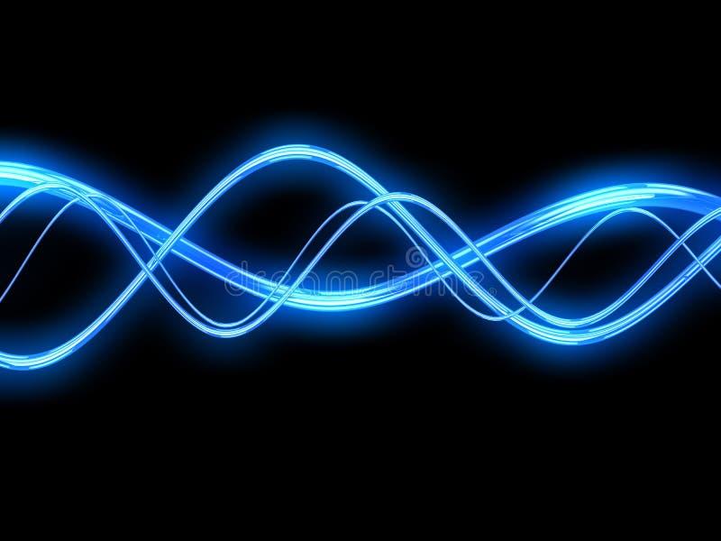 Ηλεκτρικά κύματα ελεύθερη απεικόνιση δικαιώματος