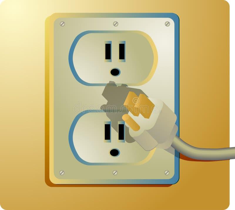 ηλεκτρική έξοδος απεικόνιση αποθεμάτων