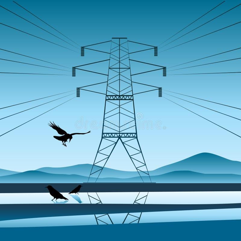 ηλεκτρική ενεργειακή πτή& διανυσματική απεικόνιση