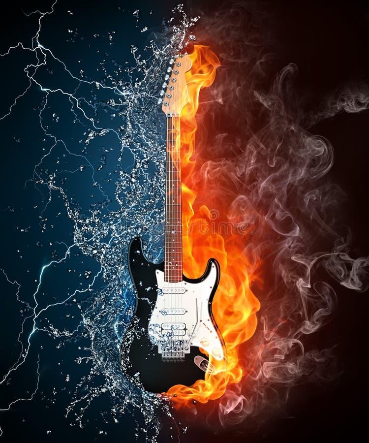 ηλεκτρική κιθάρα απεικόνιση αποθεμάτων