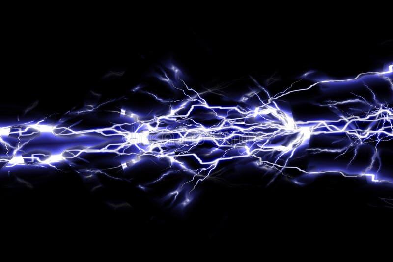 Ηλεκτρικοί σπινθήρες διανυσματική απεικόνιση