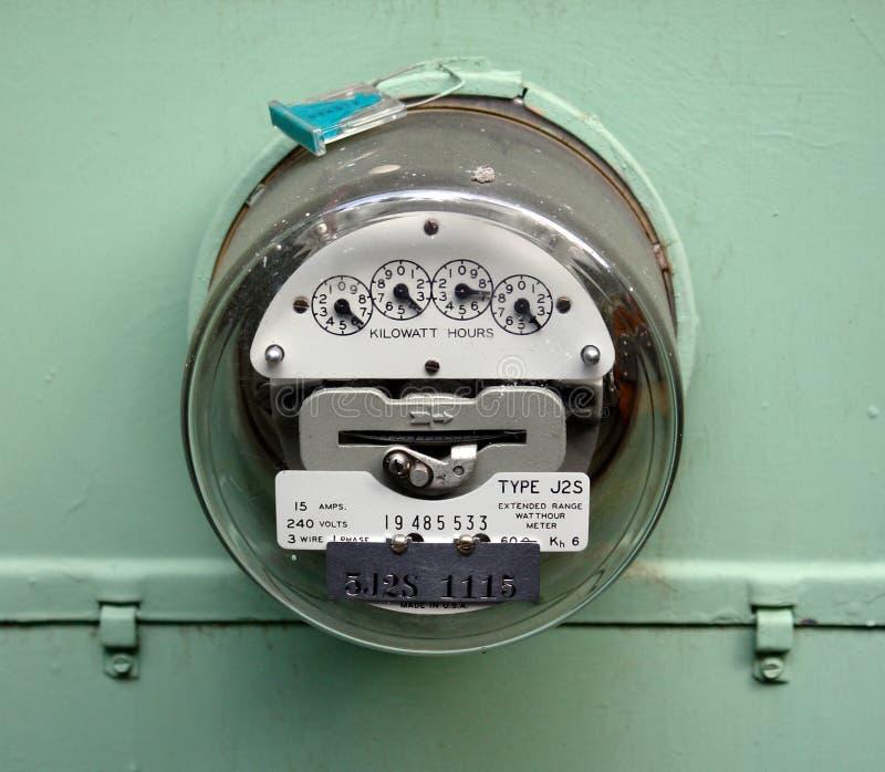 ηλεκτρικός μετρητής στοκ εικόνες με δικαίωμα ελεύθερης χρήσης