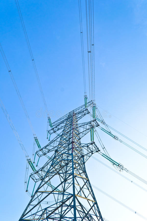 ηλεκτρικός πύργος στοκ εικόνες