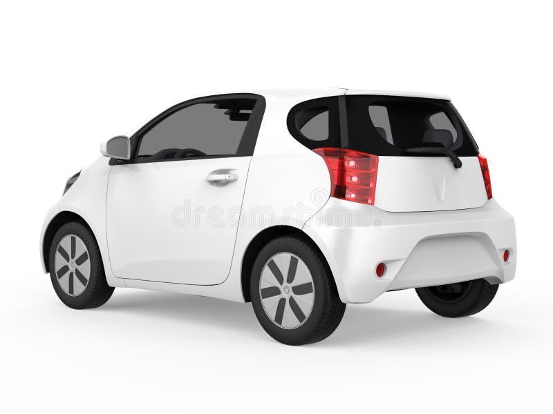Ηλεκτρικός φορτιστής μπαταριών οχημάτων που απομονώνεται διανυσματική απεικόνιση