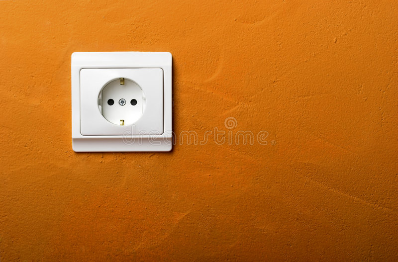 ηλεκτρικό βύσμα στοκ φωτογραφία με δικαίωμα ελεύθερης χρήσης