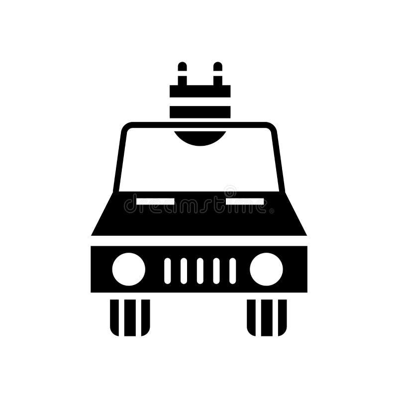 Ηλεκτρικό διάνυσμα εικονιδίων αυτοκινήτων που απομονώνεται στο άσπρο υπόβαθρο, ηλεκτρικό σημάδι αυτοκινήτων, σύμβολα eco ελεύθερη απεικόνιση δικαιώματος