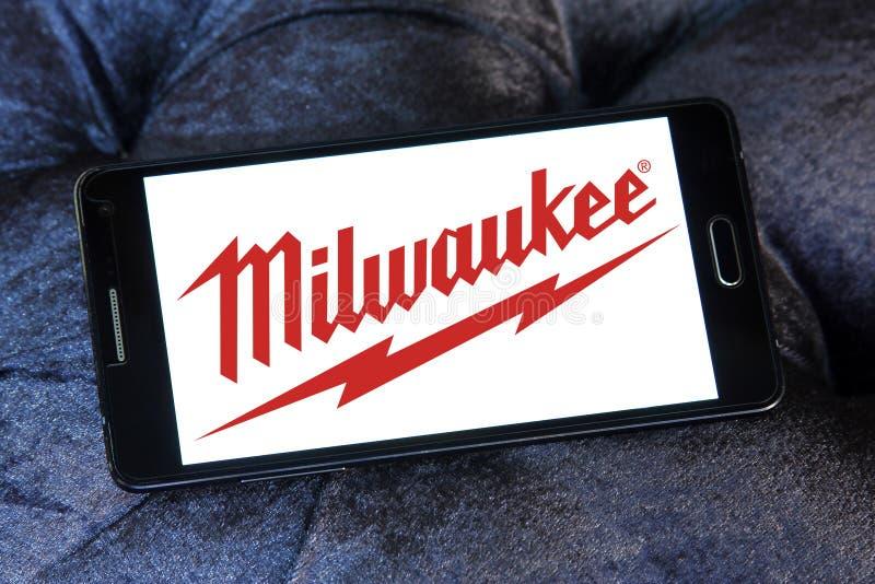 Ηλεκτρικό λογότυπο εταιριών εργαλείων του Μιλγουώκι στοκ φωτογραφία