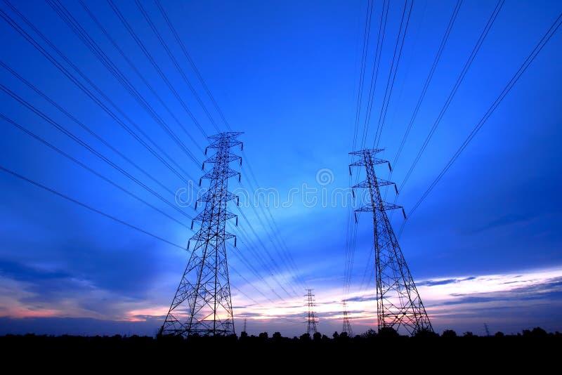 ηλεκτρικό λυκόφως της Τ&alpha στοκ φωτογραφία με δικαίωμα ελεύθερης χρήσης