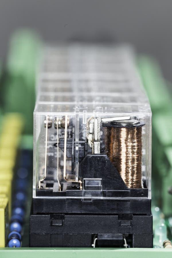 Ηλεκτρομαγνητικοί ηλεκτρονόμοι στοκ φωτογραφία με δικαίωμα ελεύθερης χρήσης