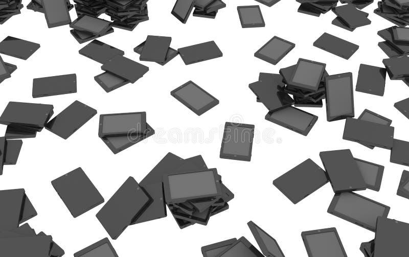 Ηλεκτρονικές ταμπλέτες απεικόνιση αποθεμάτων