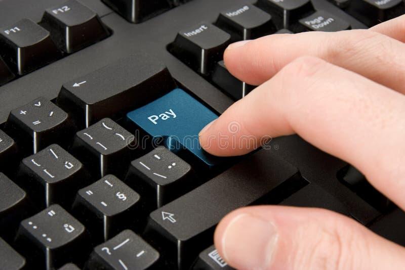 ηλεκτρονική πληρωμή έννοι&alp στοκ φωτογραφία με δικαίωμα ελεύθερης χρήσης