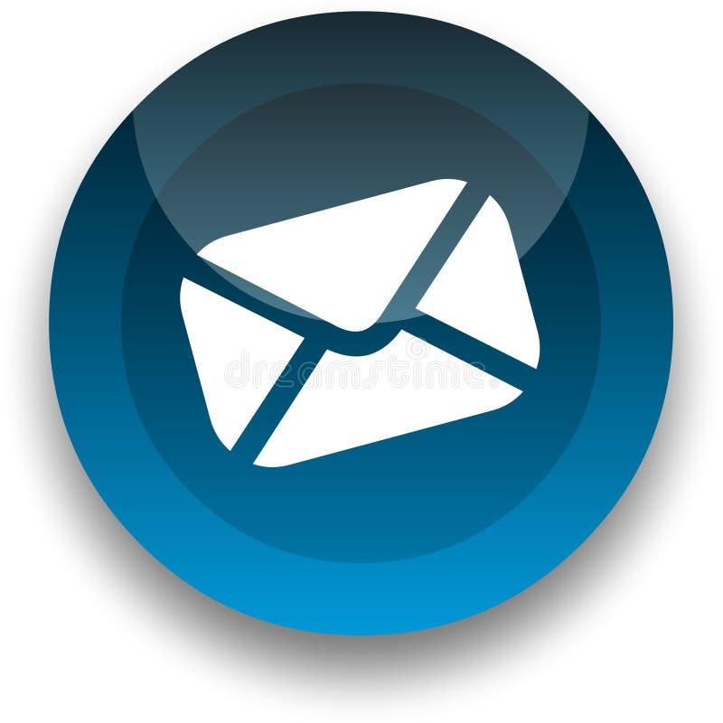ηλεκτρονικό ταχυδρομείο κουμπιών διανυσματική απεικόνιση