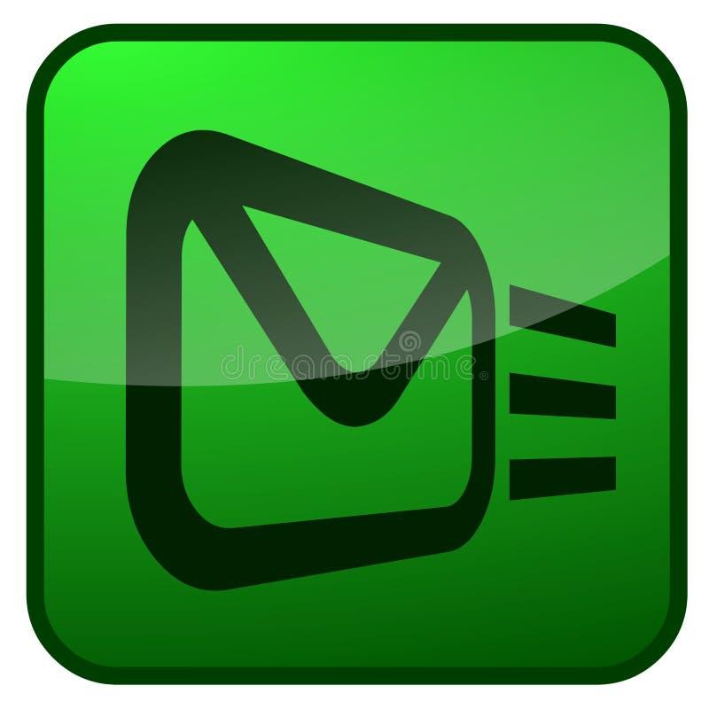 ηλεκτρονικό ταχυδρομείο κουμπιών απεικόνιση αποθεμάτων