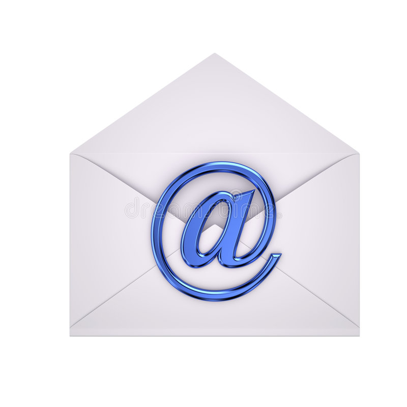 ηλεκτρονικό ταχυδρομεί&o στοκ φωτογραφία με δικαίωμα ελεύθερης χρήσης