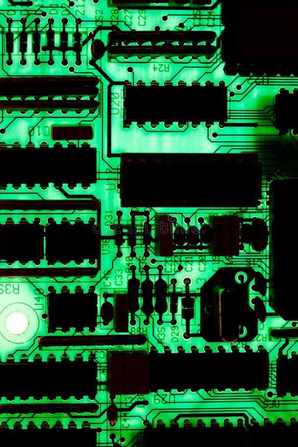 ηλεκτρονικό PCB κυκλωμάτων στοκ εικόνα με δικαίωμα ελεύθερης χρήσης