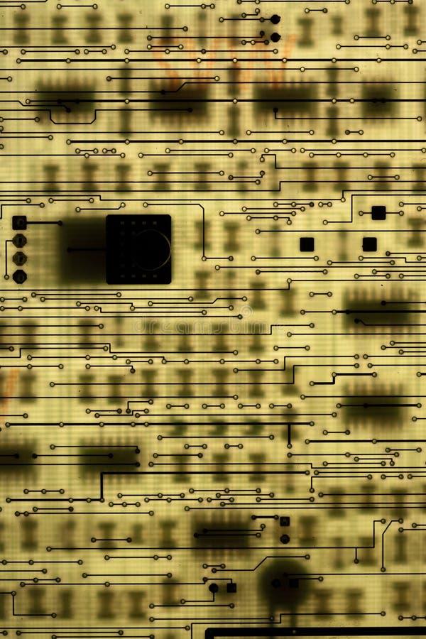 ηλεκτρονικό PCB κυκλωμάτων στοκ φωτογραφίες