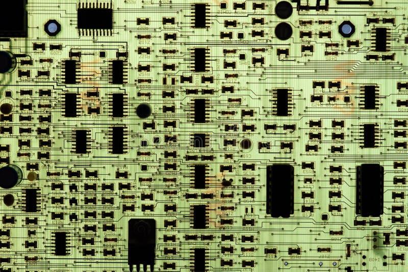 ηλεκτρονικό PCB κυκλωμάτων στοκ φωτογραφίες με δικαίωμα ελεύθερης χρήσης