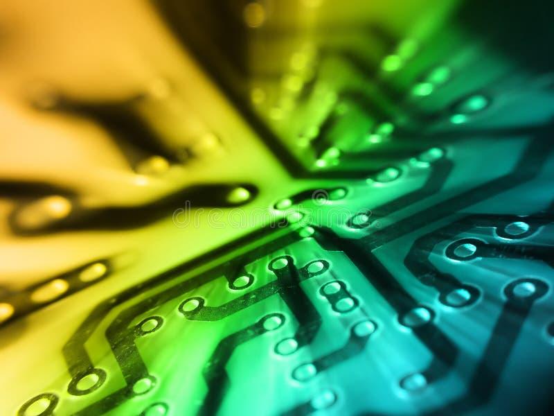 ηλεκτρονικό PCB χαρτονιών στοκ φωτογραφία με δικαίωμα ελεύθερης χρήσης