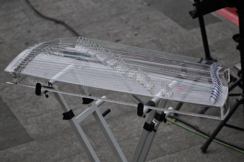Ηλεκτρονικό zither στοκ φωτογραφίες με δικαίωμα ελεύθερης χρήσης