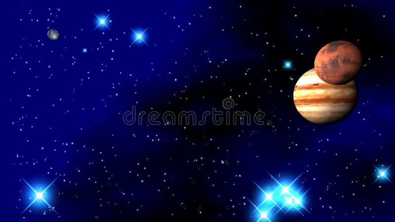 ηλιακό σύστημα πλανητών στοκ φωτογραφίες