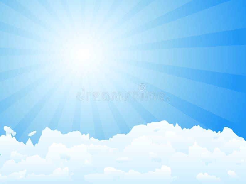 ηλιαχτίδα σύννεφων