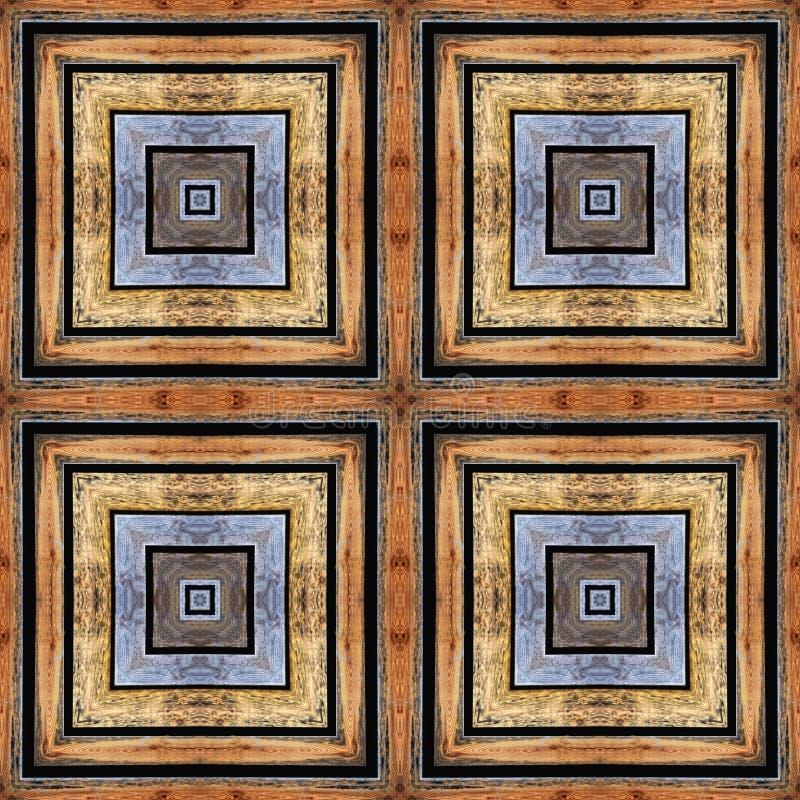ηλικίας άνευ ραφής κεραμίδια προτύπων πατωμάτων ξύλινα στοκ εικόνες