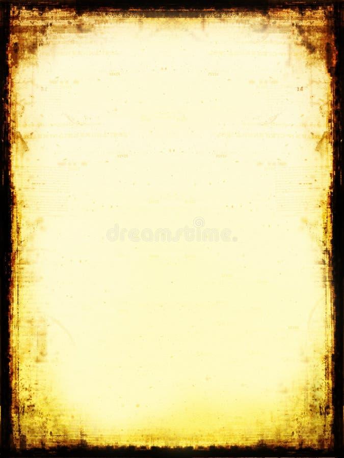 Download ηλικίας έγγραφο απεικόνιση αποθεμάτων. εικόνα από ανασκόπησης - 105215