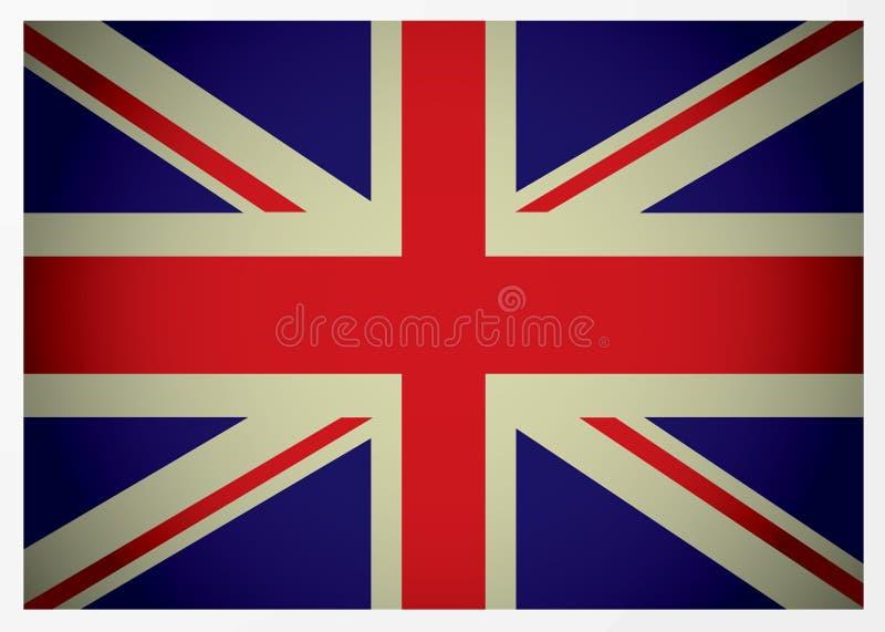 ηλικίας βρετανική σημαία Στοκ Εικόνες