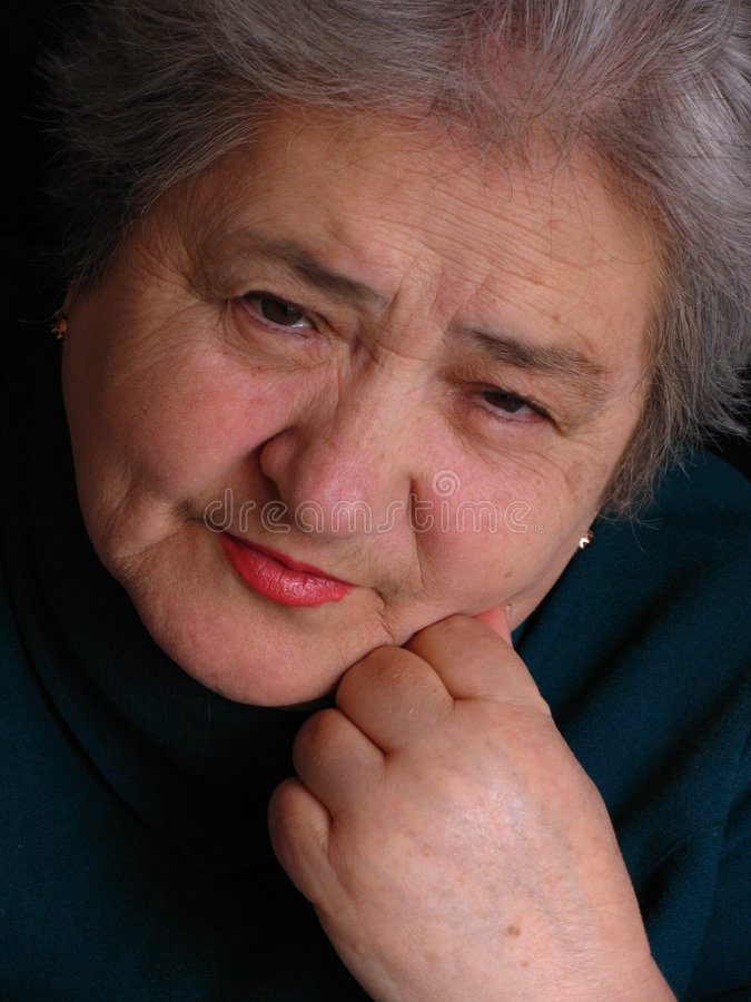 ηλικίας γυναίκα στοκ εικόνες