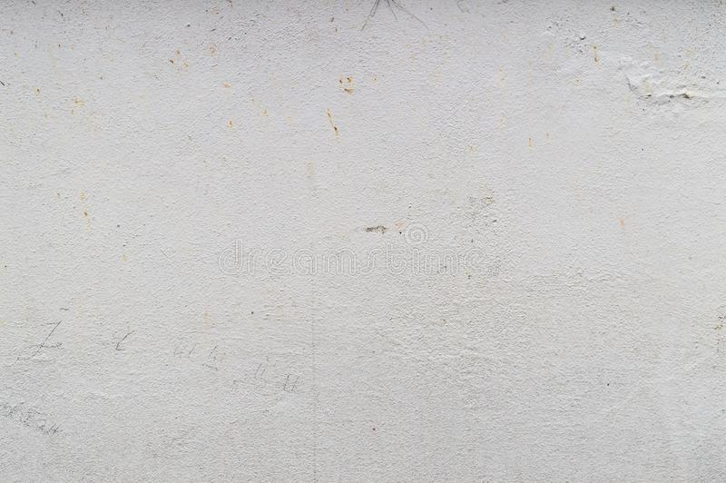 Ηλικίας κενού εκλεκτής ποιότητας ή βρώμικου άσπρο υπόβαθρο υποβάθρου τοίχων, της φυσικής παλαιάς σύστασης τσιμέντου ή πετρών στοκ φωτογραφία με δικαίωμα ελεύθερης χρήσης