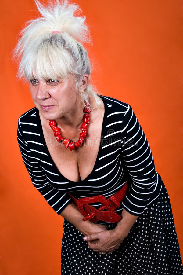 ηλικίας μέση γυναίκα στοκ εικόνες