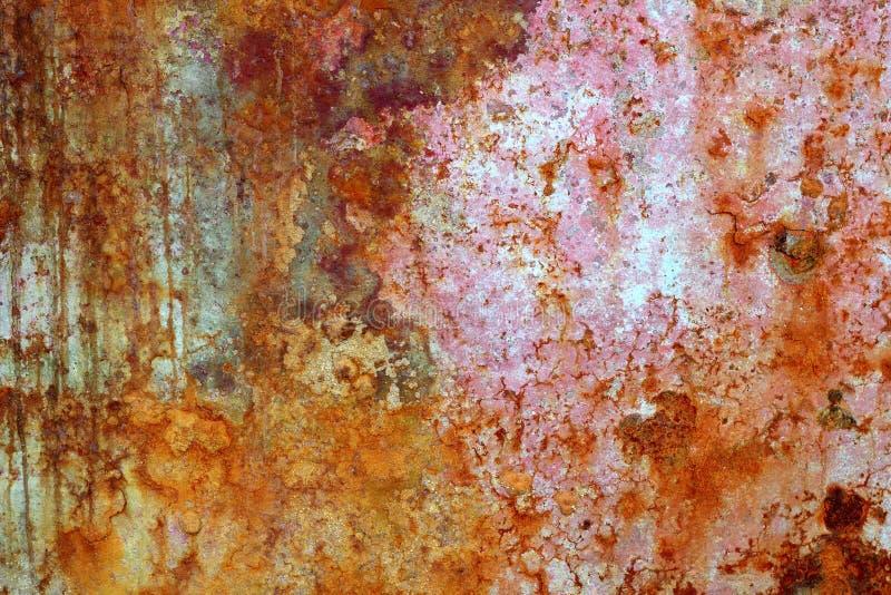 ηλικίας οξειδωμένη σίδηρ&omic στοκ εικόνες