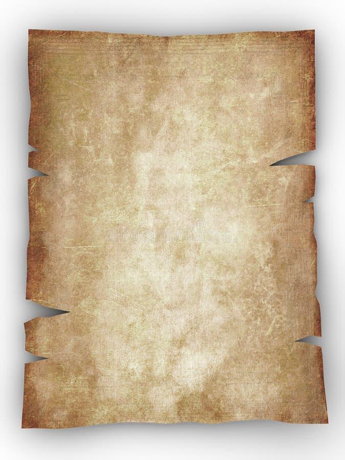 ηλικίας τρύγος εγγράφου ανασκόπησης παλαιός διανυσματική απεικόνιση