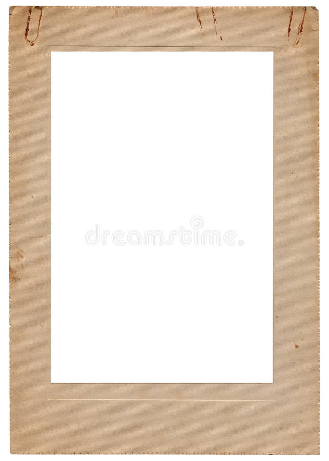 ηλικίας τρύγος στούντιο χαρτοφυλακίων εικόνων πλαισίων στοκ φωτογραφία με δικαίωμα ελεύθερης χρήσης