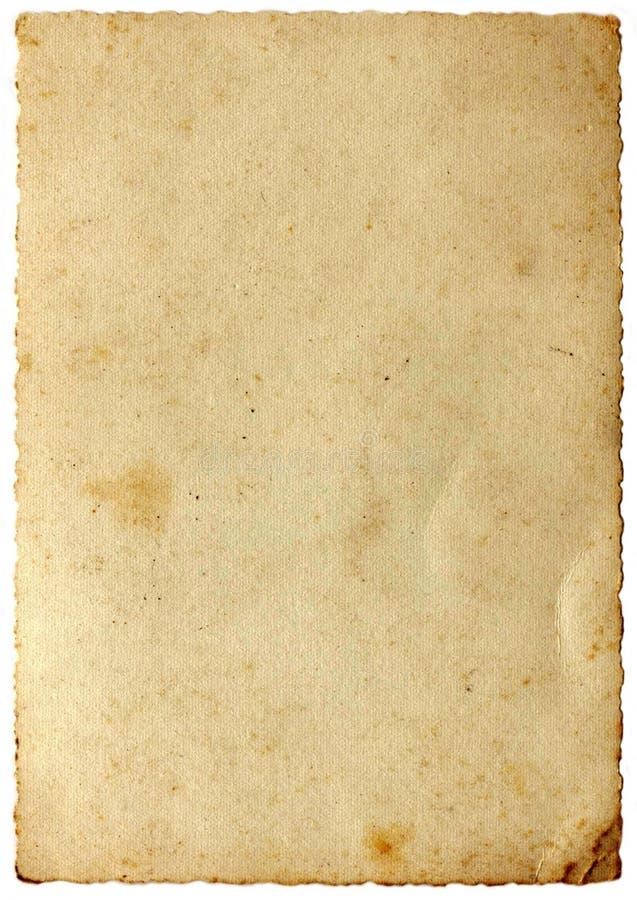 ηλικίας IV σειρά εγγράφου στοκ εικόνα