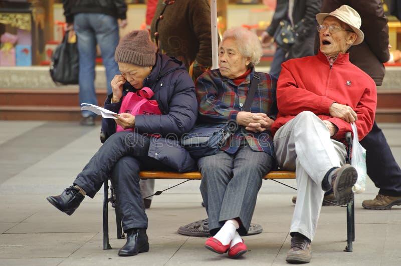 ηλικιωμένες στηργμένος γ& στοκ φωτογραφία με δικαίωμα ελεύθερης χρήσης