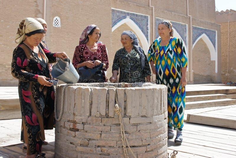 Ηλικιωμένες Usbek γυναίκες, Khiva, Ουζμπεκιστάν στοκ φωτογραφίες με δικαίωμα ελεύθερης χρήσης