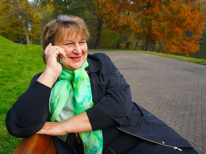 ηλικιωμένη γυναίκα πορτρέ&tau στοκ εικόνες με δικαίωμα ελεύθερης χρήσης