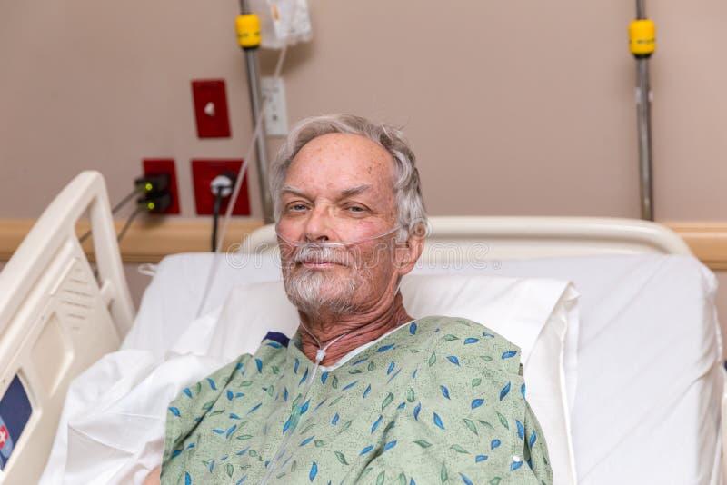 ηλικιωμένο άτομο νοσοκ&omicro στοκ εικόνα με δικαίωμα ελεύθερης χρήσης