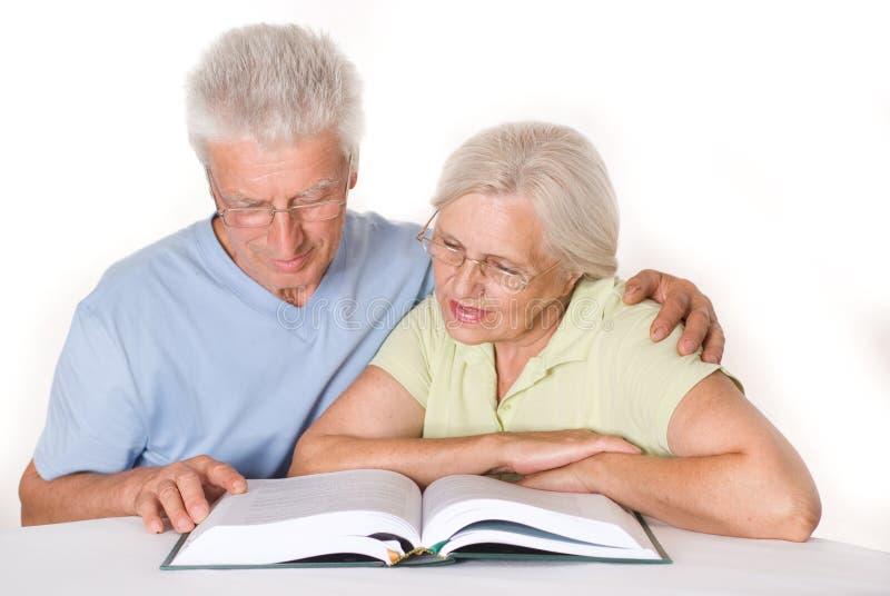 Ηλικιωμένο ζεύγος από κοινού στοκ εικόνες με δικαίωμα ελεύθερης χρήσης