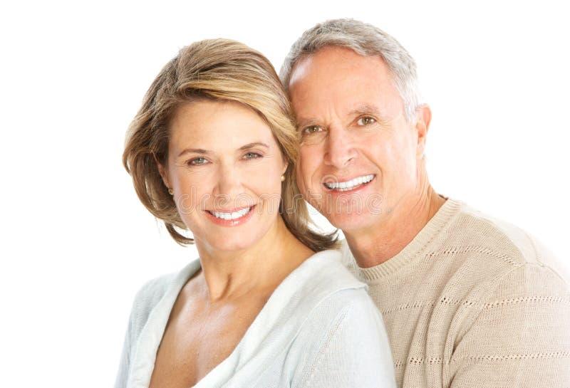 Ηλικιωμένο ζεύγος στοκ εικόνες με δικαίωμα ελεύθερης χρήσης