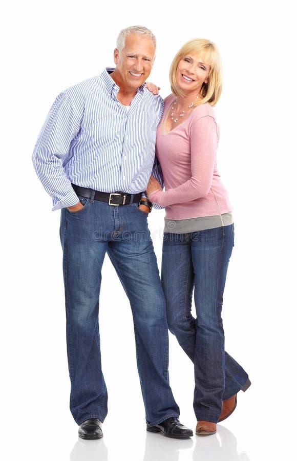 Ηλικιωμένο ζεύγος στοκ εικόνα με δικαίωμα ελεύθερης χρήσης