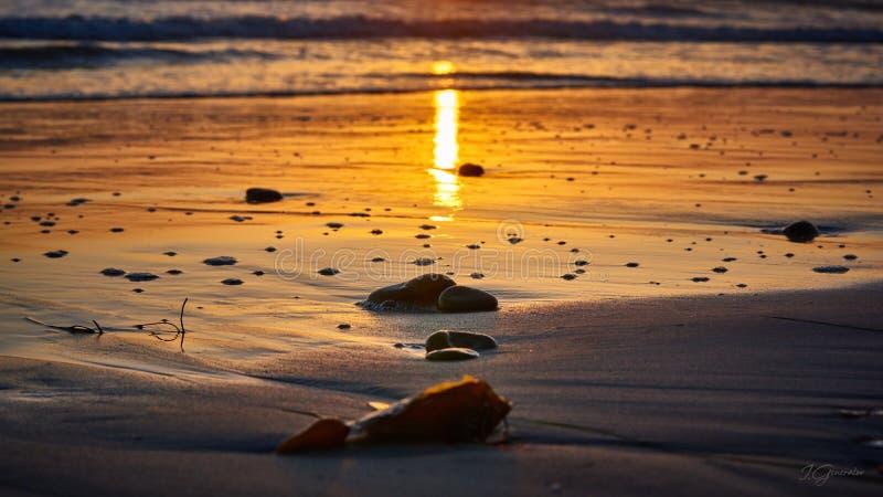 Ηλιοβασίλεμα Ð ¡ στο alifornia, Σαν Ντιέγκο στοκ φωτογραφία με δικαίωμα ελεύθερης χρήσης