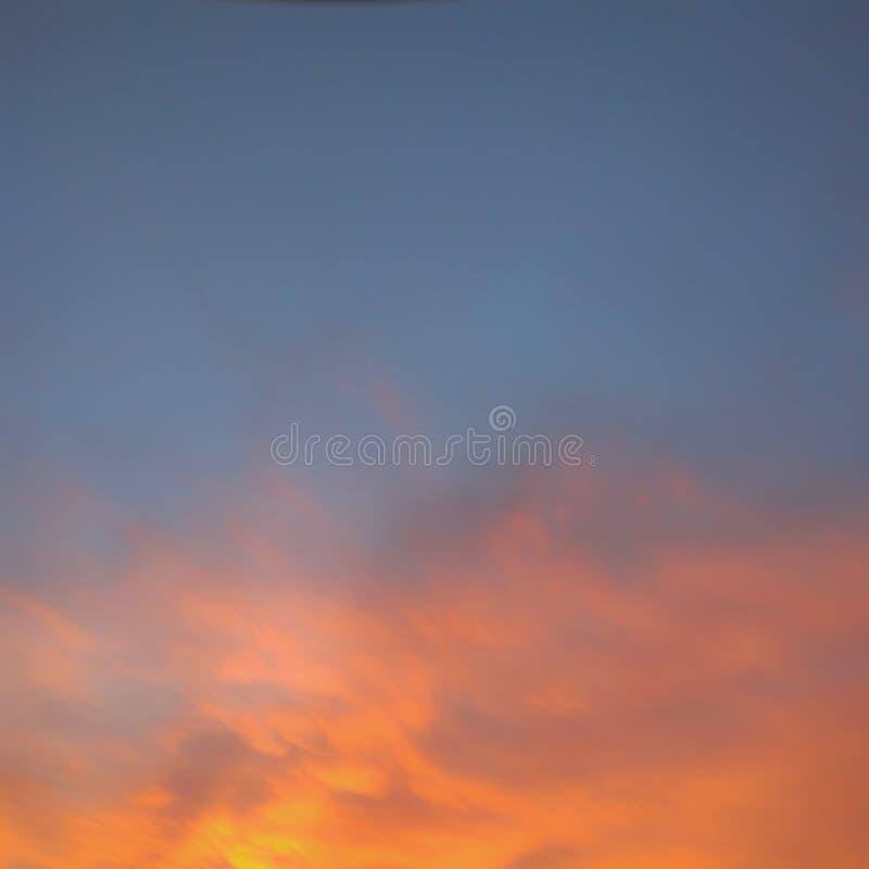 Ηλιοβασίλεμα θερινής όμορφο φύσης για το προϊόν επίδειξης ή το υπόβαθρο ή την ταπετσαρία στοκ εικόνες