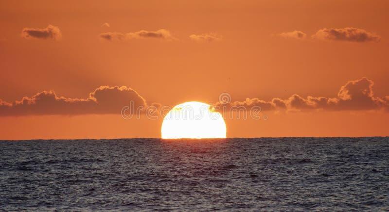 Ηλιοβασίλεμα Ισραήλ στοκ εικόνα