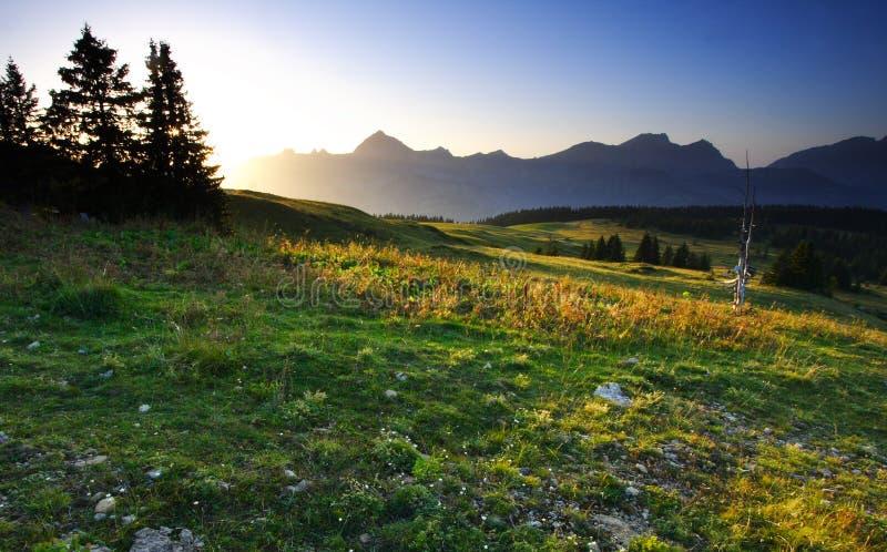 ηλιοβασίλεμα κραμπολάχ&a στοκ εικόνες