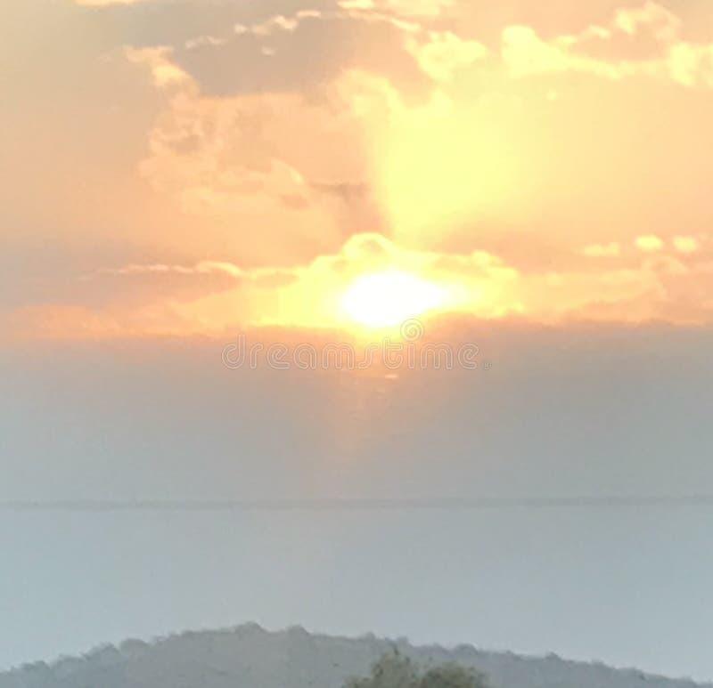 Ηλιοβασίλεμα Μεξικό στοκ φωτογραφία με δικαίωμα ελεύθερης χρήσης